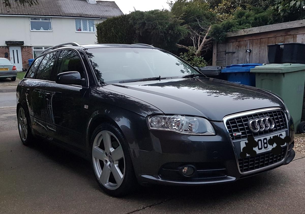 Audi A4 B7 Avant S Line 2 0tdi Swap For S Max In S41 Chesterfield
