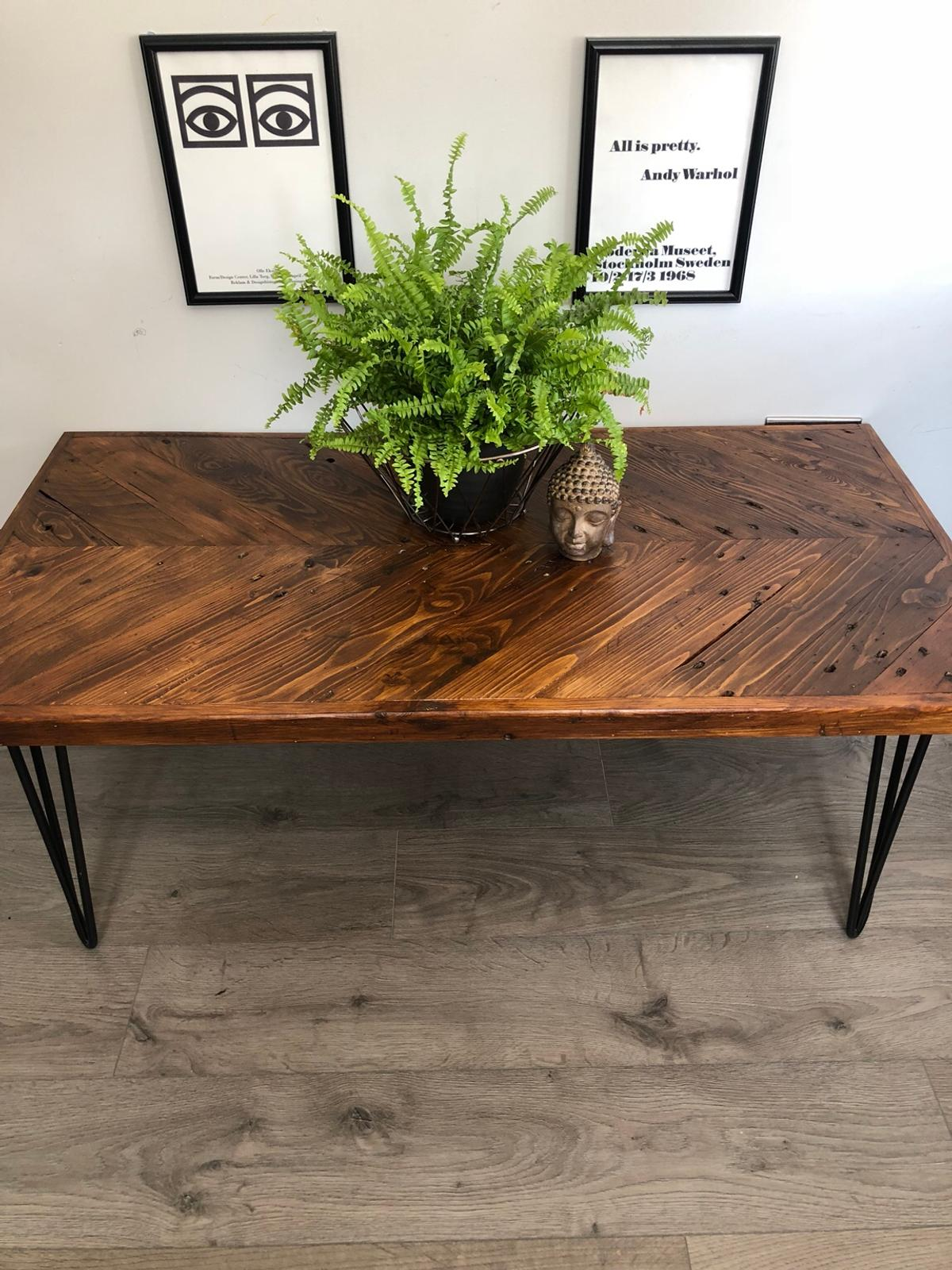 - Rustic Industrial Reclaimed Coffee Table In Oakengates Für 195,00