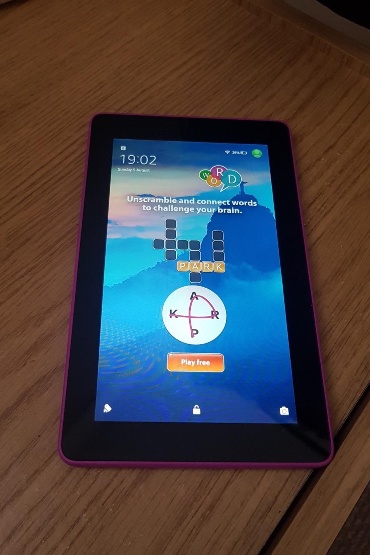 Amazon fire tablet 5th generation 7inch 8gb