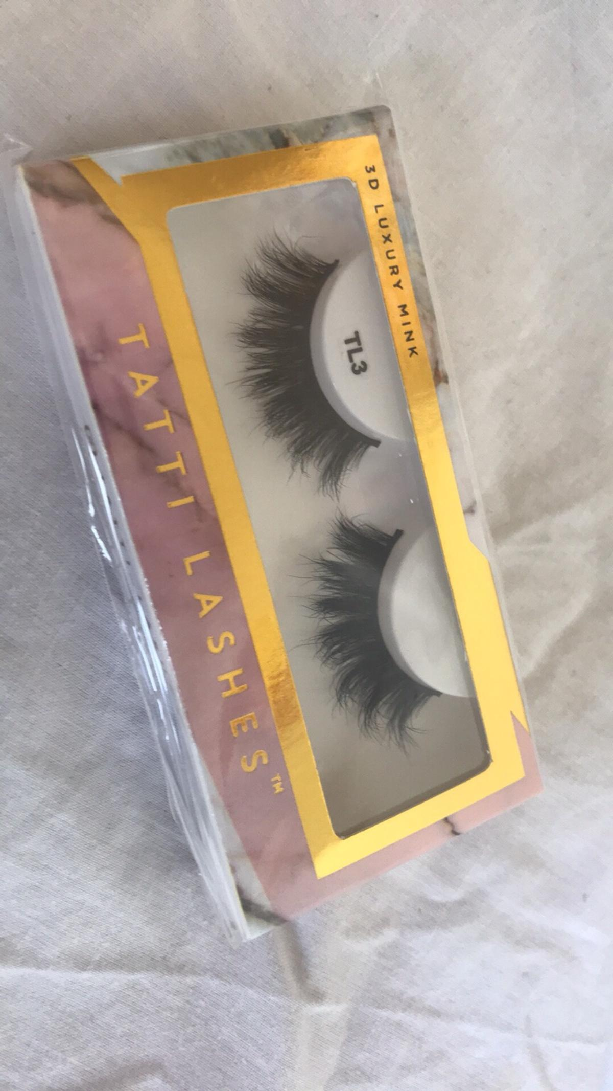 8eb98354eac Tatti 3D Luxury Mink Lashes T3 in N1 Hackney for £10.00 for sale ...