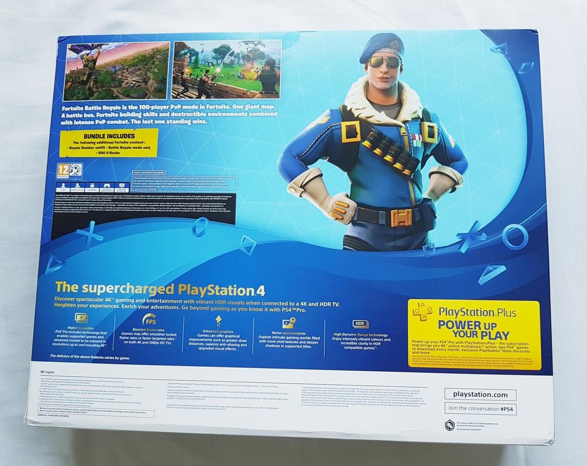 NEW Fortnite PS4 Pro PlayStation Console in NW10 London for
