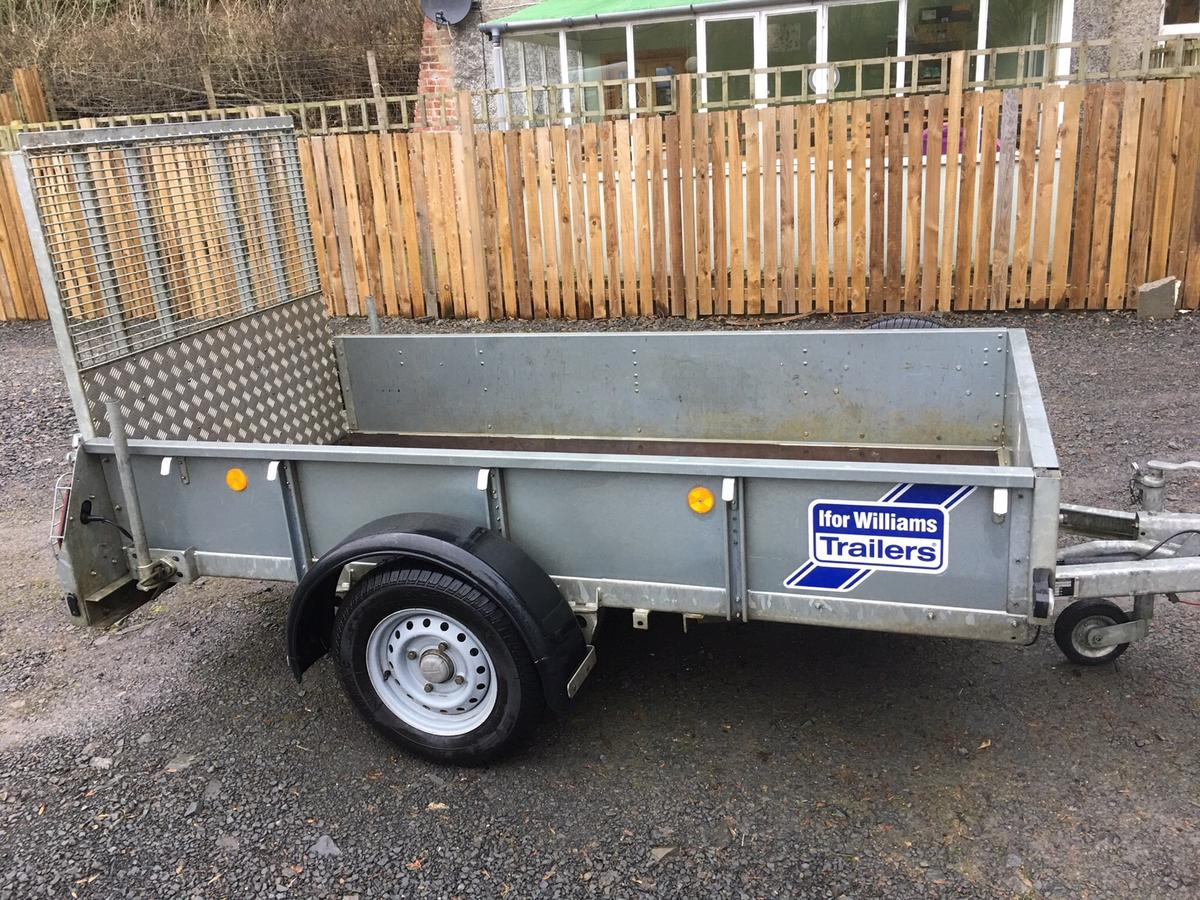 Ifor Williams Gd84 Trailer In Wern For  U00a31 100 00 For Sale