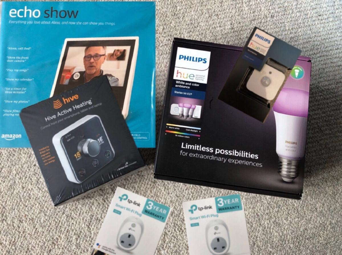 Hive, Echo, Plug x2 and Philips Hue Bundle in DY2 Dudley for £599 00