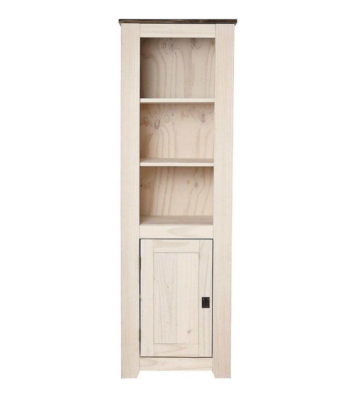 Solid Wood Bookcase Cabinet Display Unit