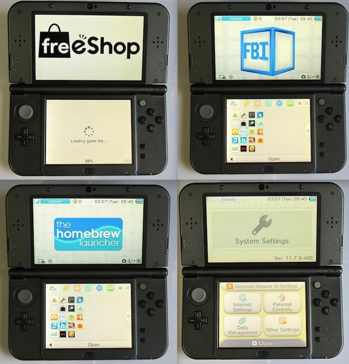 New NINTENDO 3DS/2DS 80 GAME Mod, Luma, 3shop in WC2H London for