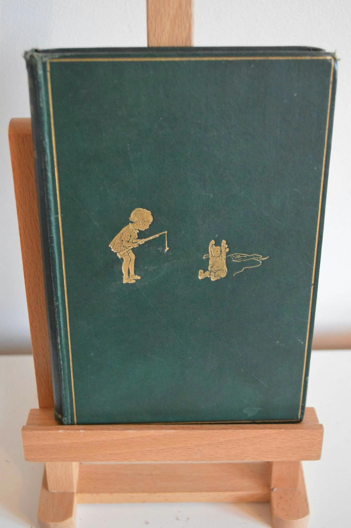 Antique Book 1928 Winnie The Pooh In Ng34 Ruskington For
