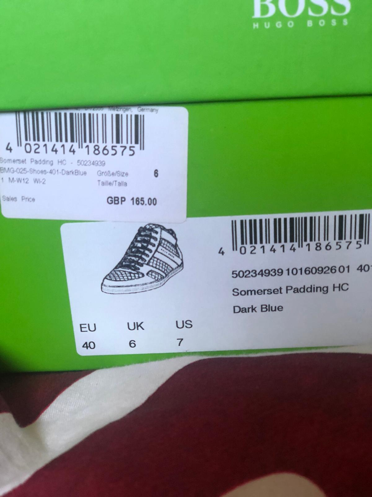 80892195015 Hugo Boss Trainer/Shoe size 6 in B80 Redditch for £45.00 for sale ...