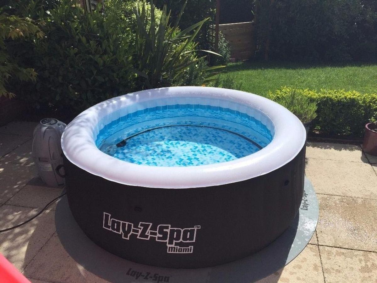 Icke gamla Lazy Z Spa Miami Hot-tub, Jucuzzi in LE18 Leicester for £200.00 KC-91