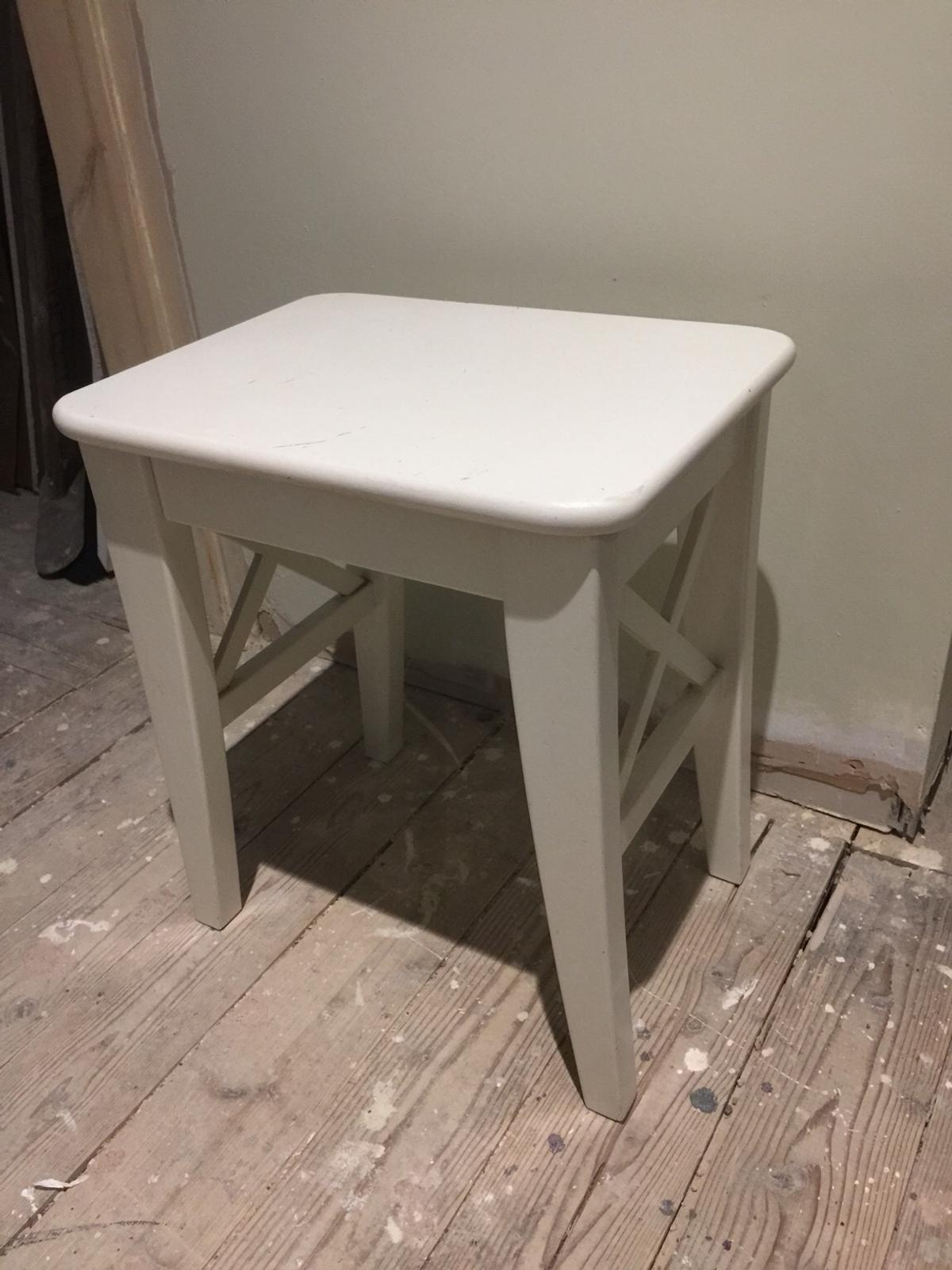 Prime Ikea Ingolf Vanity Stool White Onthecornerstone Fun Painted Chair Ideas Images Onthecornerstoneorg