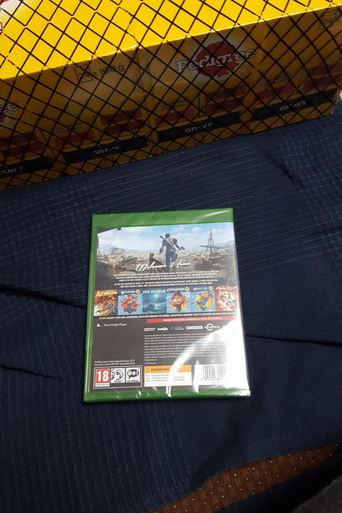 Fallout4 Xbox one brand new in wraper£8 ONLY