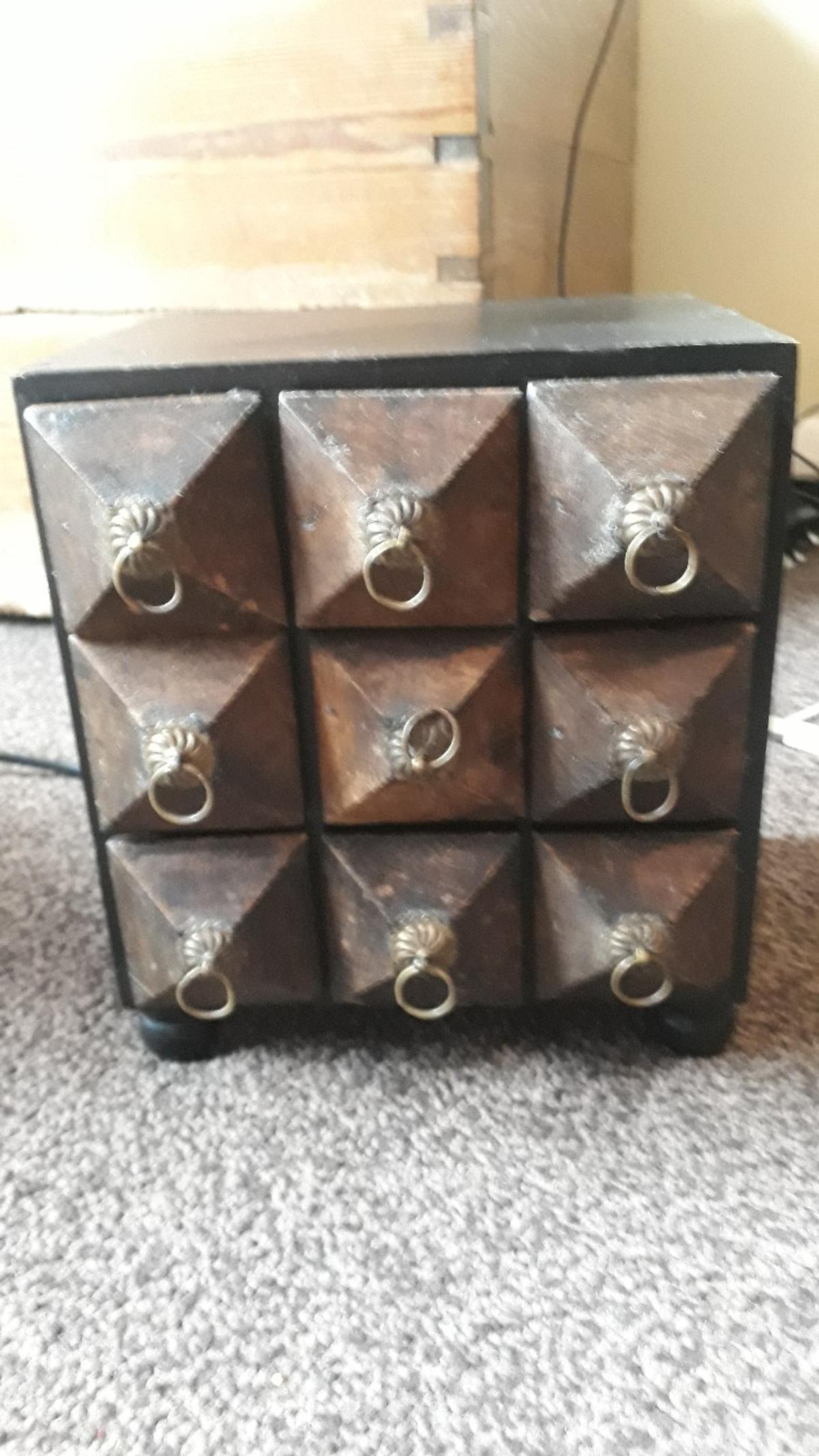 Unique Wooden Box Can Be Used As A Spice Ra In Watford For 5 00 For Sale Shpock