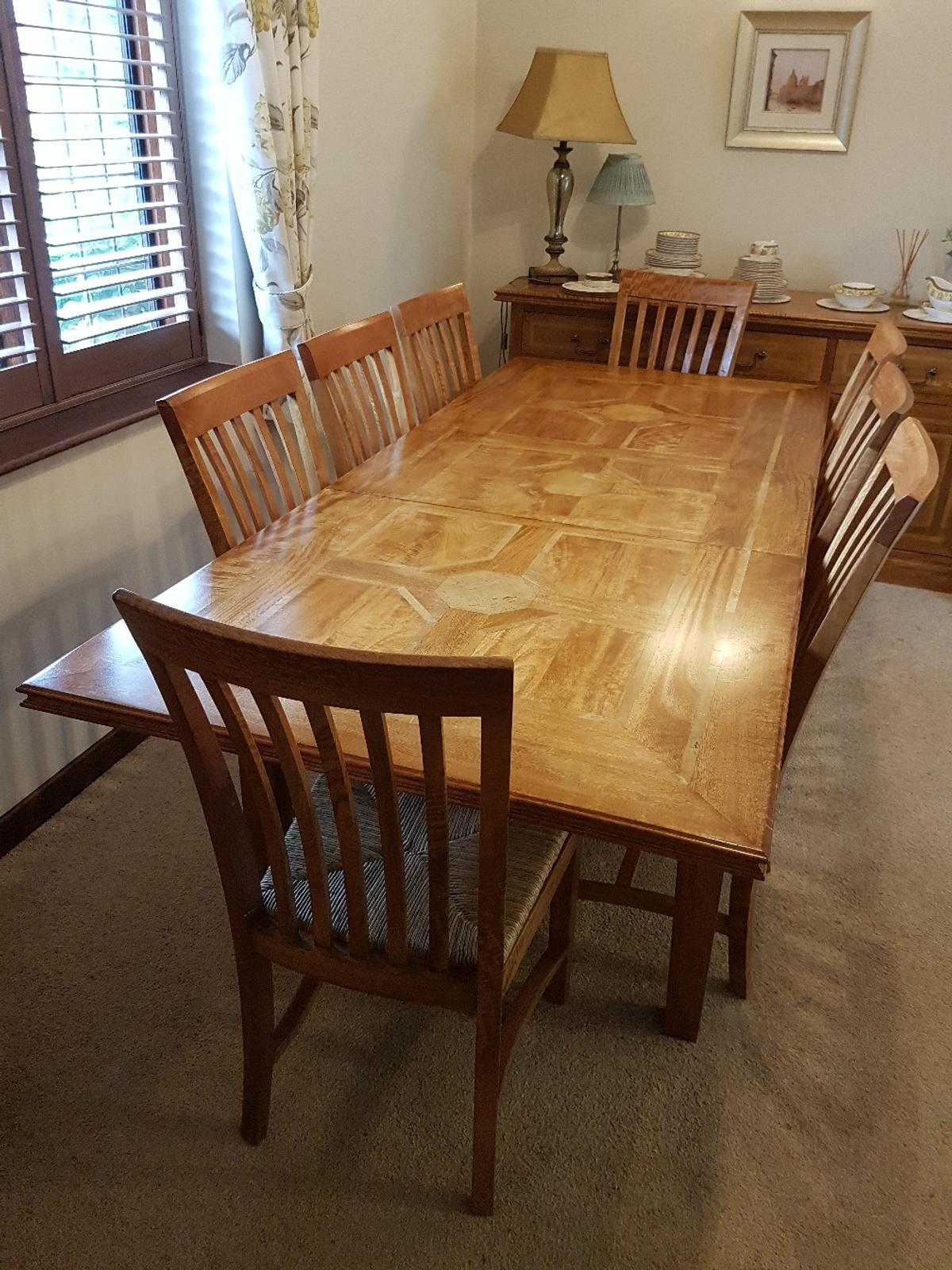 M S Malabar Solid Wood Full Dining Set In Ng4 Gedling For