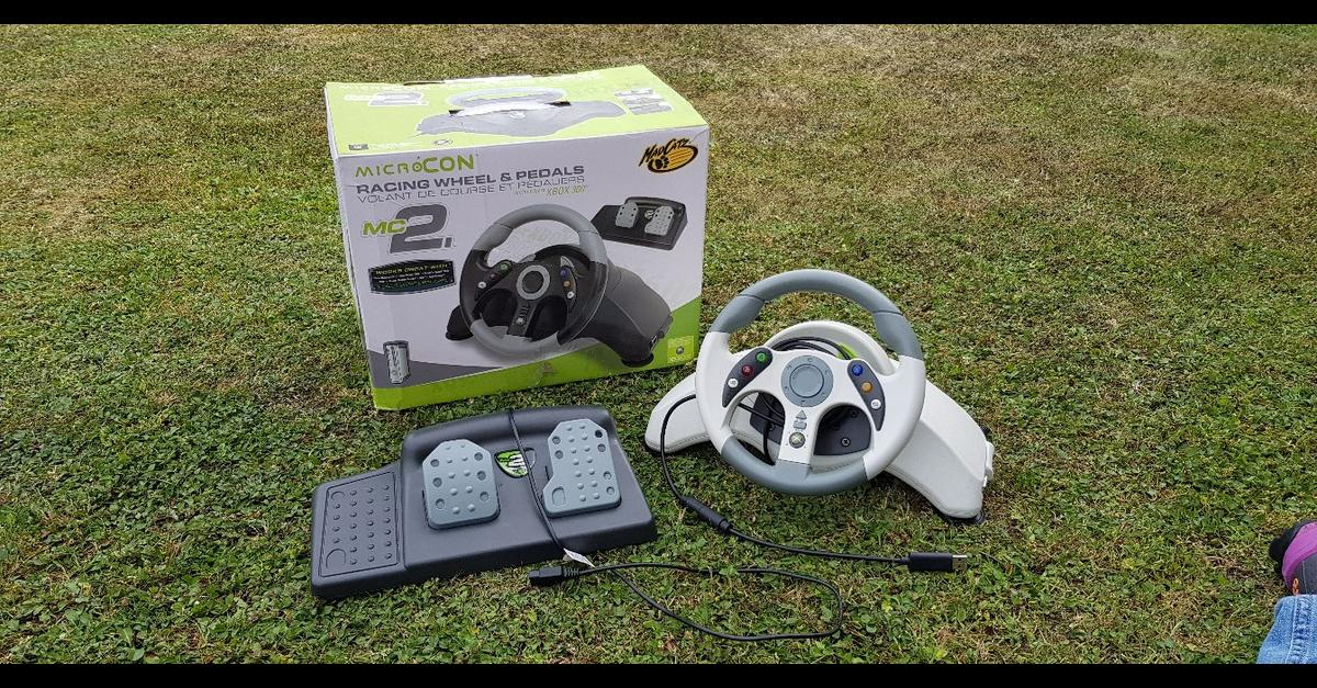 a36831523df MC2 MicroCon Racing Wheel & Pedals XBox 360 in LE19 Blaby for £8.00 ...