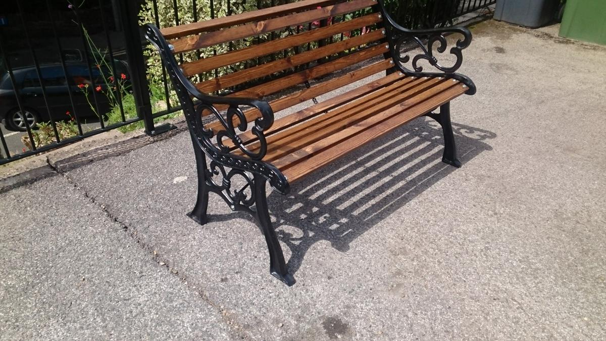 Swell Antique Cast Iron Garden Bench Caraccident5 Cool Chair Designs And Ideas Caraccident5Info