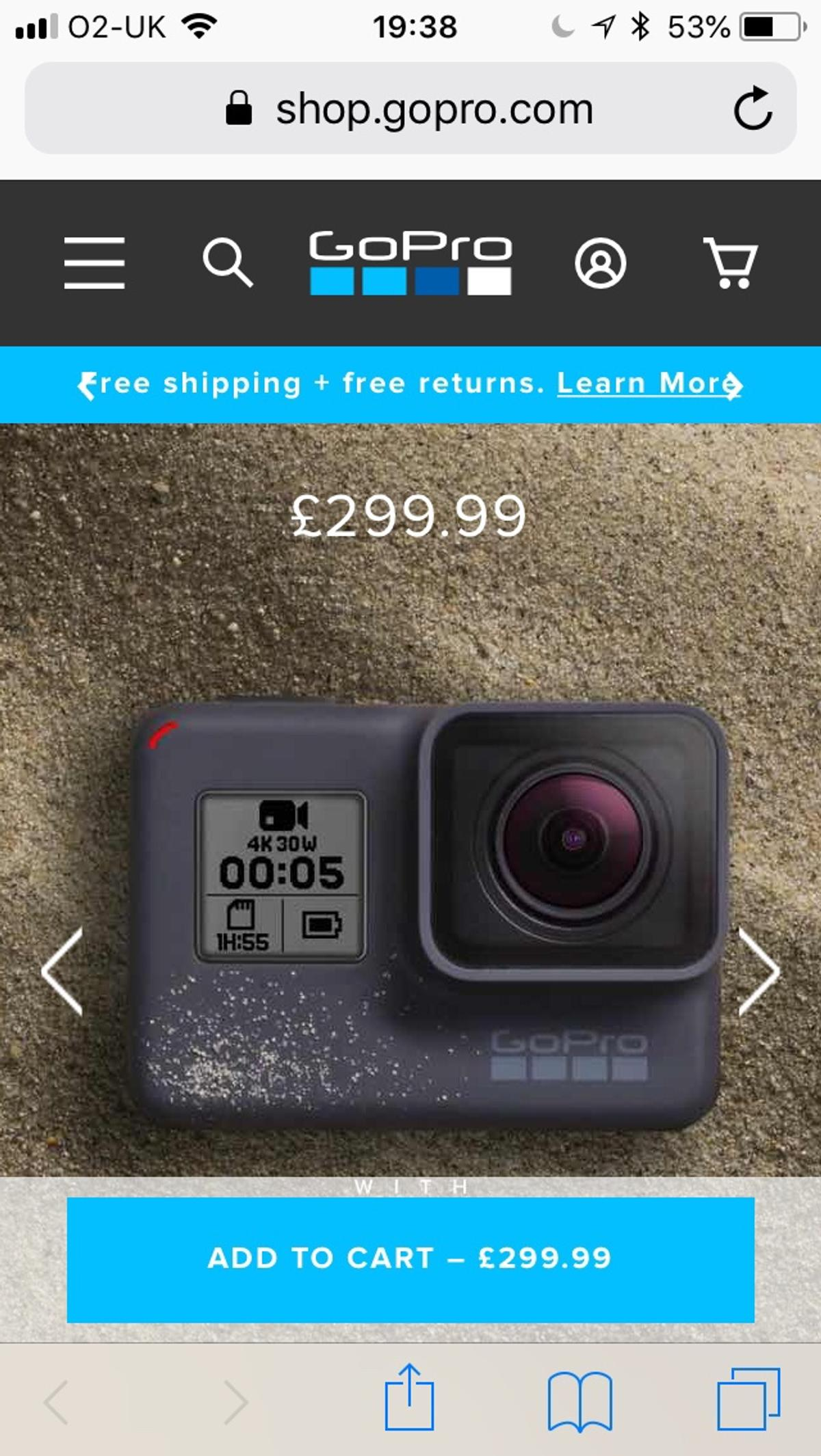 GoPro Hero5 - brand new in box in SW6 London for £219 00 for