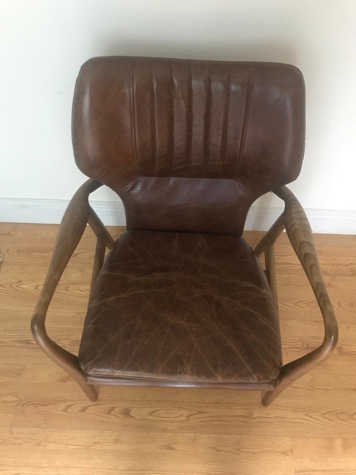LAURA ASHLEY WHITWORTH LEATHER CHAIR in NW8 Westminster for ...