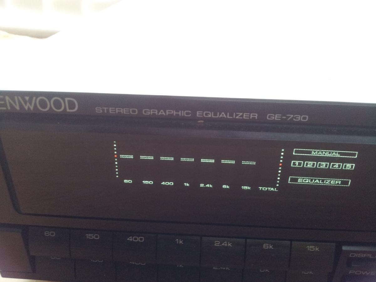 KENWOOD GE-730 STEREO GRAPHIC EQUALIZER in Kirklees for £49 00 for