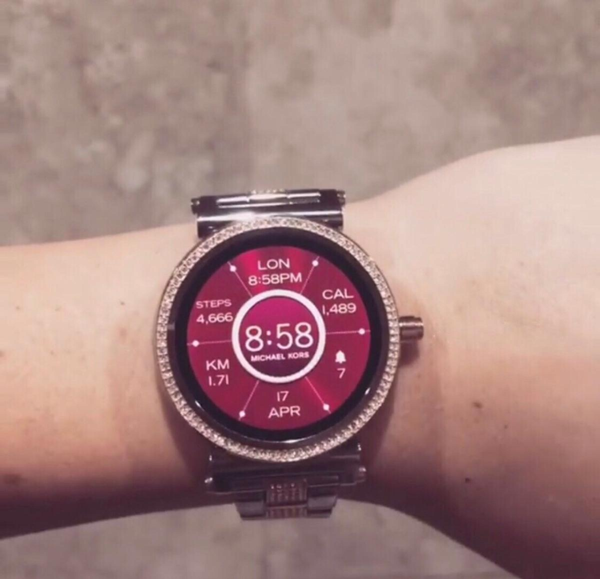Michael Kors Access Sofia Smart Watch In S20 Sheffield For 220 00