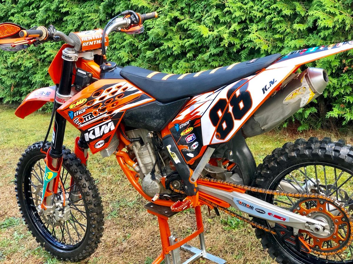 Motocross 250 Ccm 280 Ccm Ktm Sx F 2009 In 88356 Ostrach For 2 600 00 For Sale Shpock