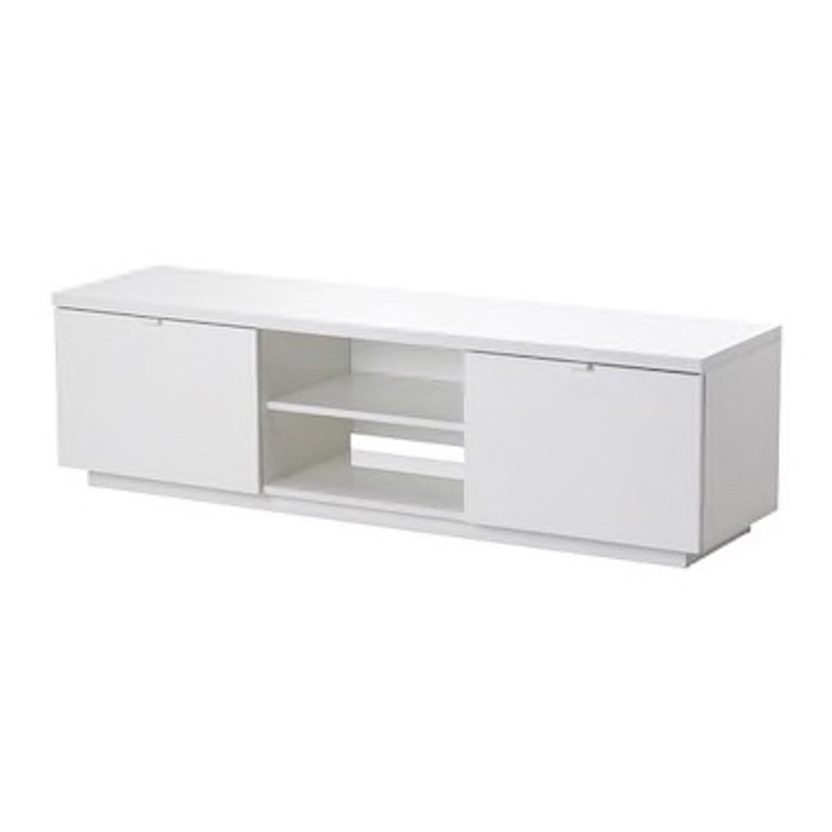 cea610f6230 IKEA white BYAS Tv Bench Unit in SE1 London for £75.00 for sale - Shpock