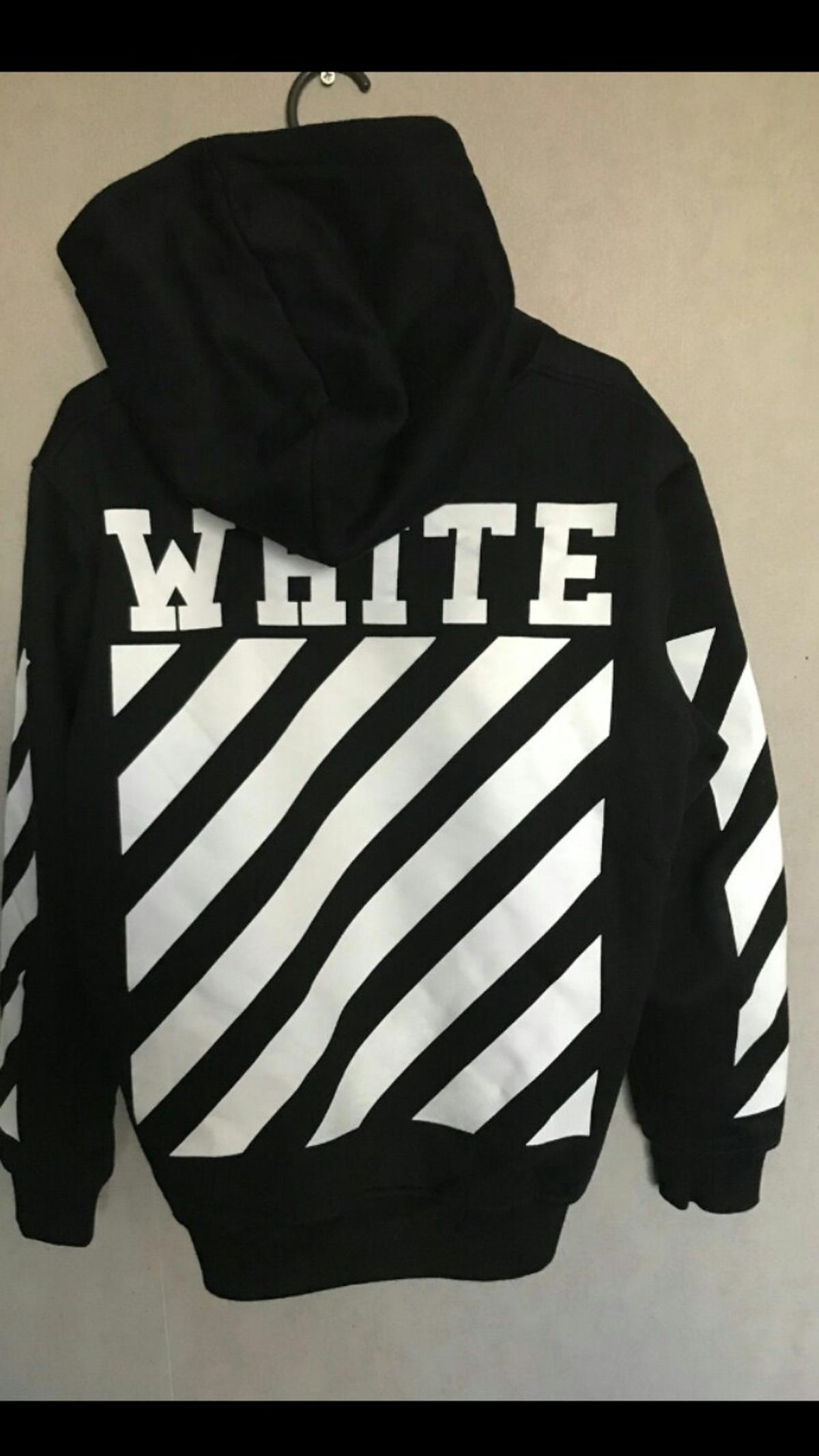 Off white hoodie | Etsy