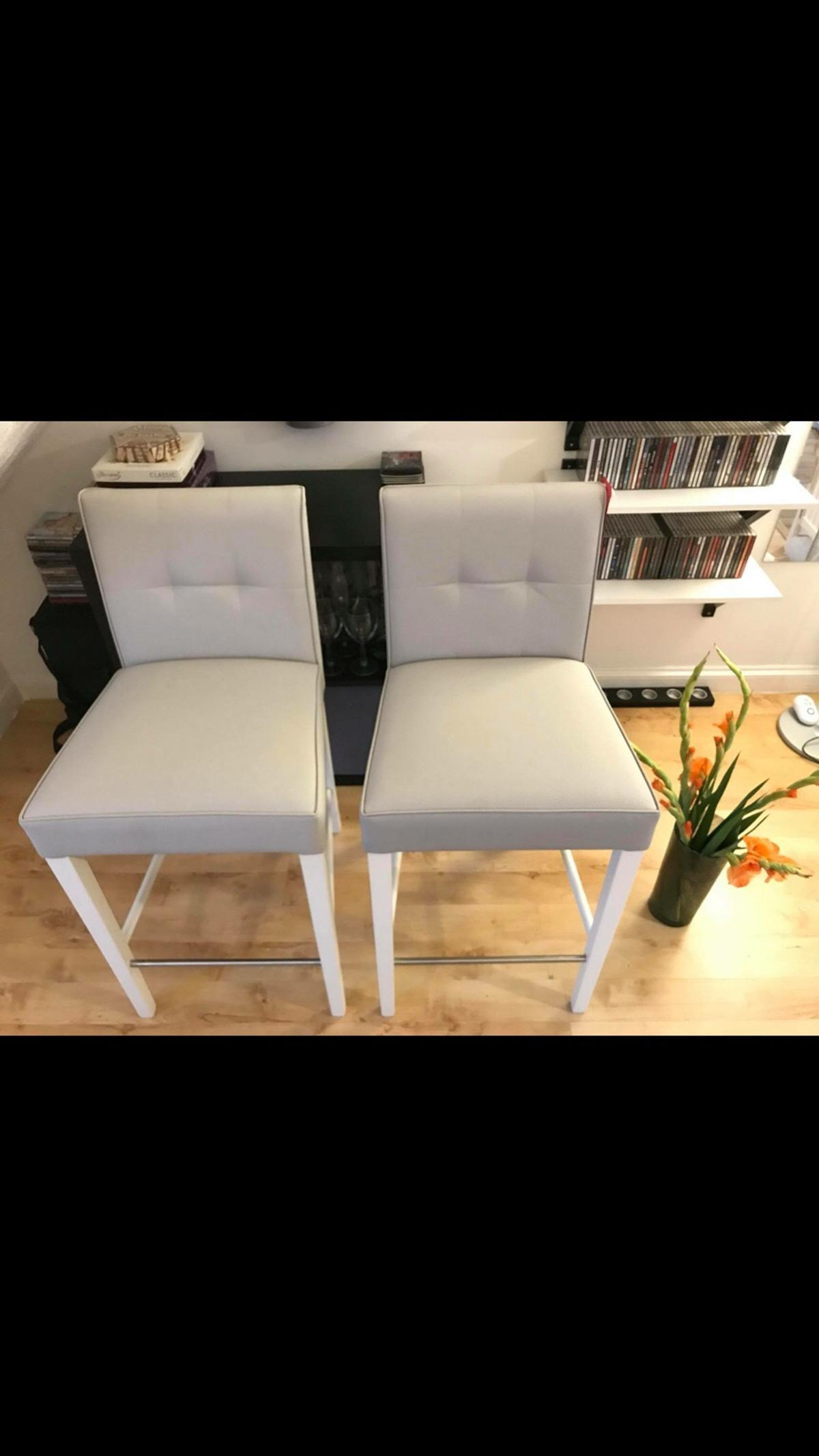 Magnificent John Lewis Simone Faux Leather Bar Chair In Luton For Gmtry Best Dining Table And Chair Ideas Images Gmtryco