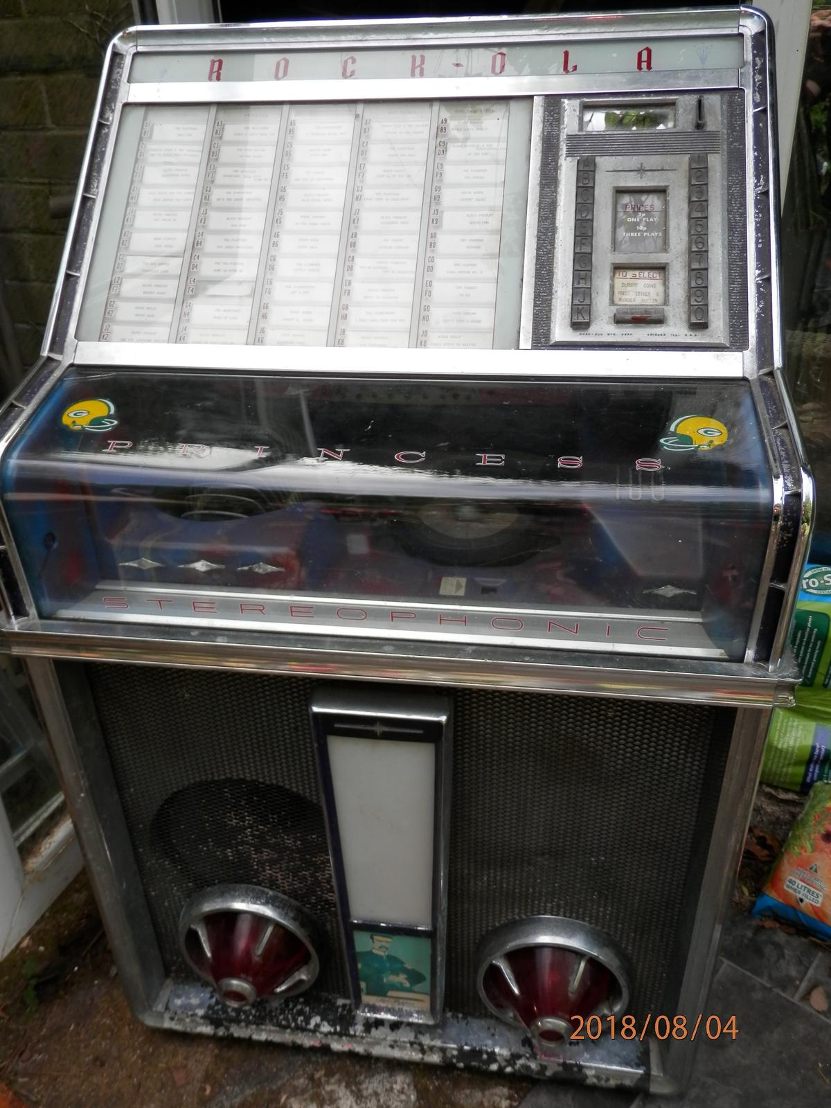 Stunning Rock-ola Princess Jukebox in BD18 Bradford for