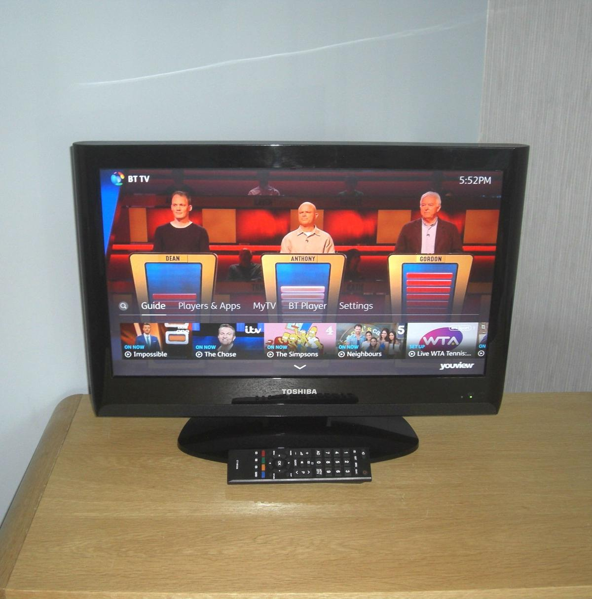 Toshiba REGZA 22 inch Full HD 1080p LCD TV in L36 Knowsley for