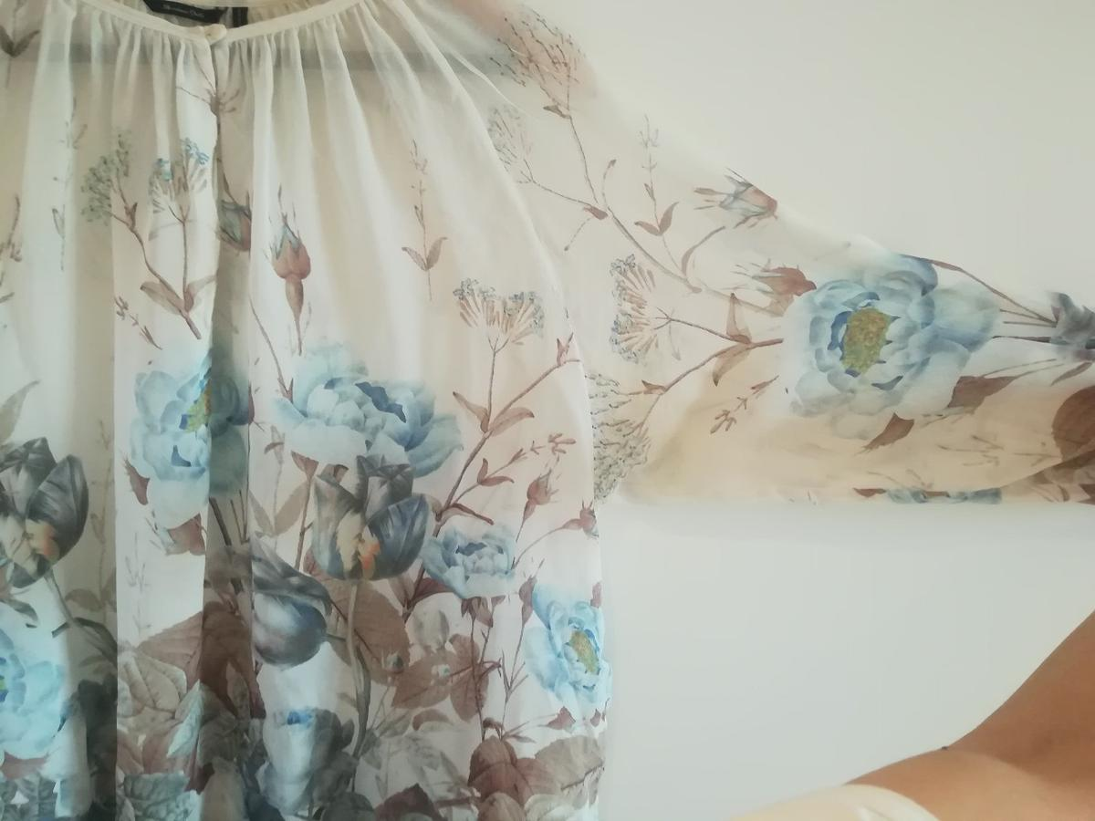 33dc5f3294a907 MASSIMO DUTTI Silk Blouse in EC1N Temple for £8.00 for sale - Shpock