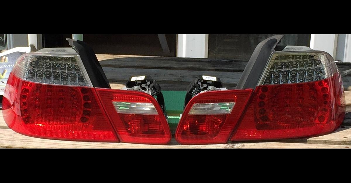 BMW 3 SERIES E46 COUPE CONVERTIBLE REAR LIGHTS WIRES CABLE LEFT /& RIGHT