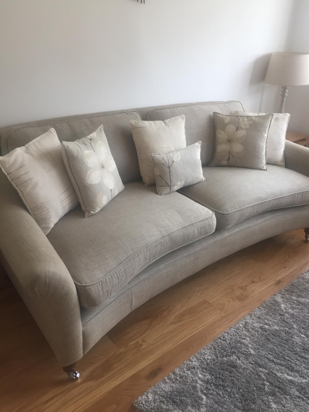 Laura Ashley Curved 3 4 Seater Sofa In