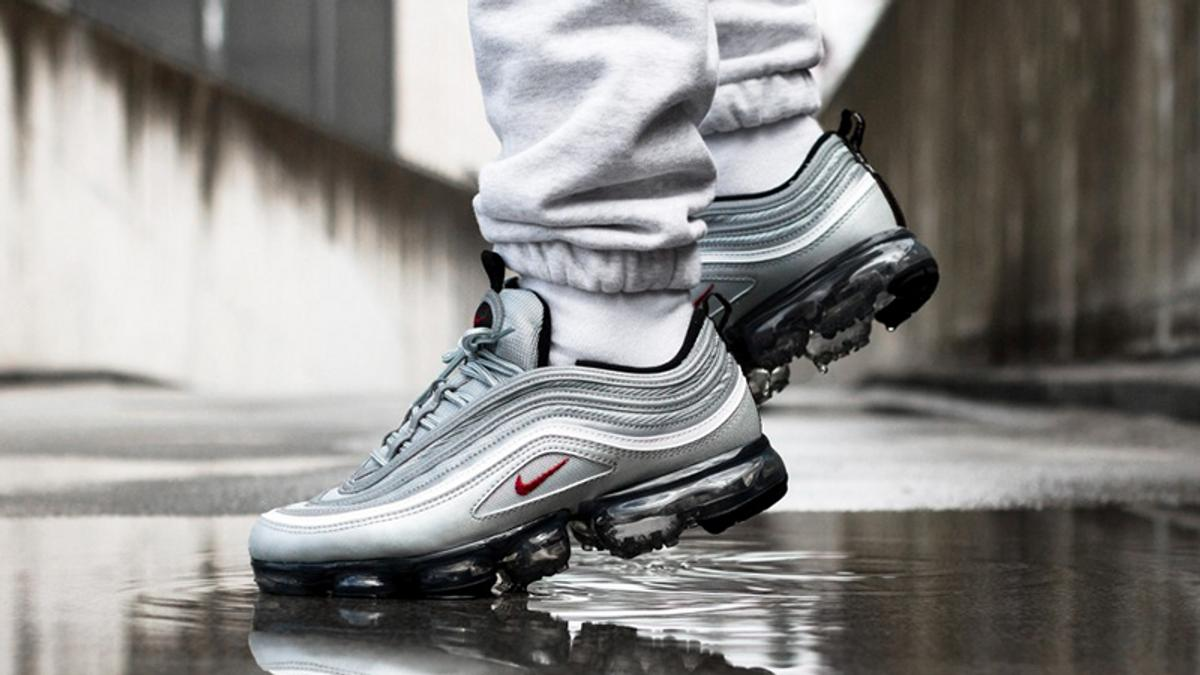 23b12182dae NIKE AIR MAX 97 VAPORMAX GREY RED SHOES in SW6 Fulham for £74.99 for ...