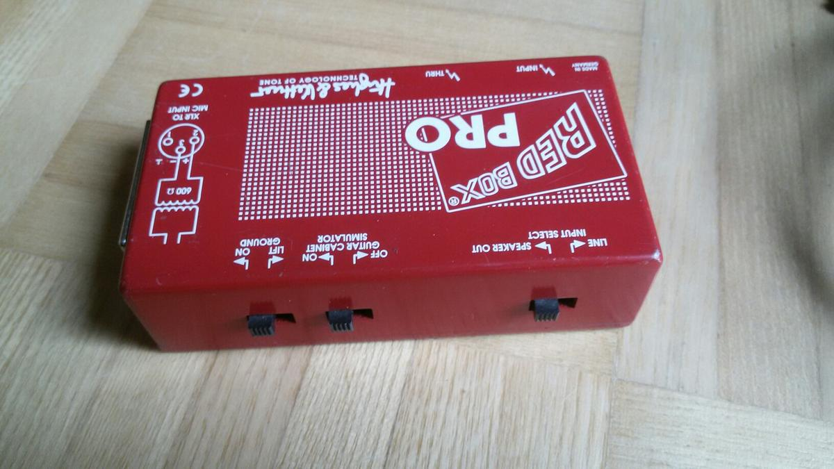 Hughes & Kettner Red Box Pro DI-Box in 6305 Itter for €45 00 for