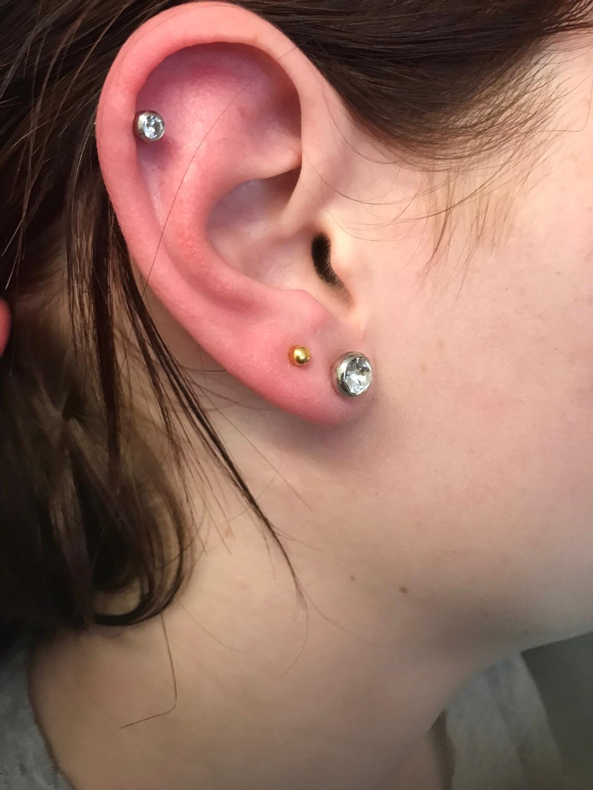 Ear Nose And Top Ear Piercings