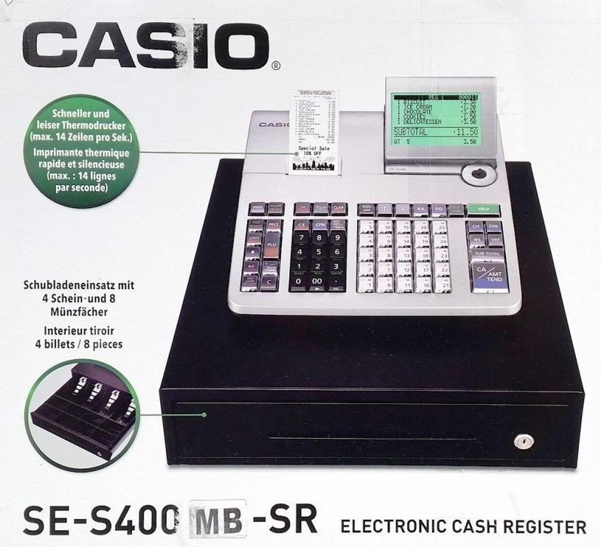 Casio SE S400 Cash Register EPOS System in DY5 Dudley for