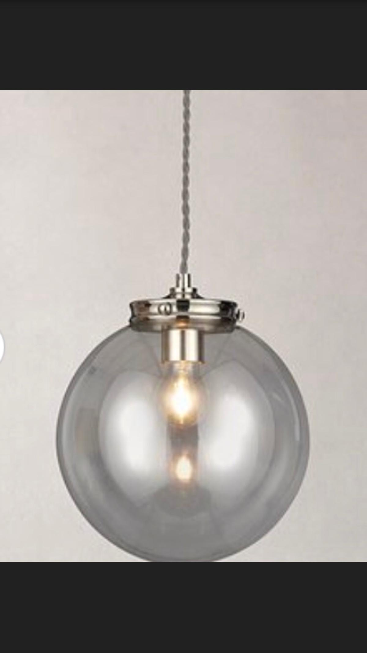 Dunelm Atlin Nickel Light