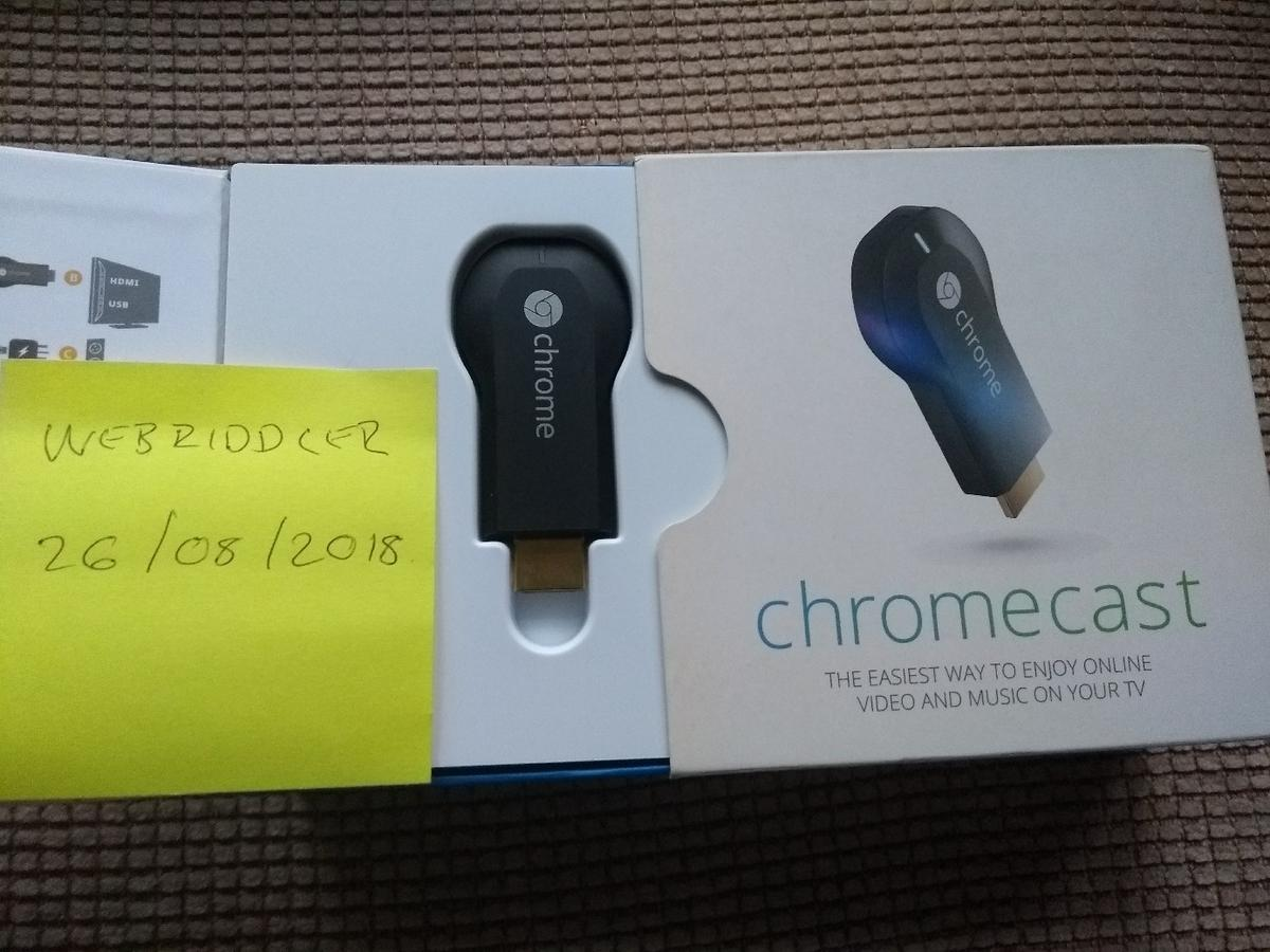 Chromecast HDMI Dongle