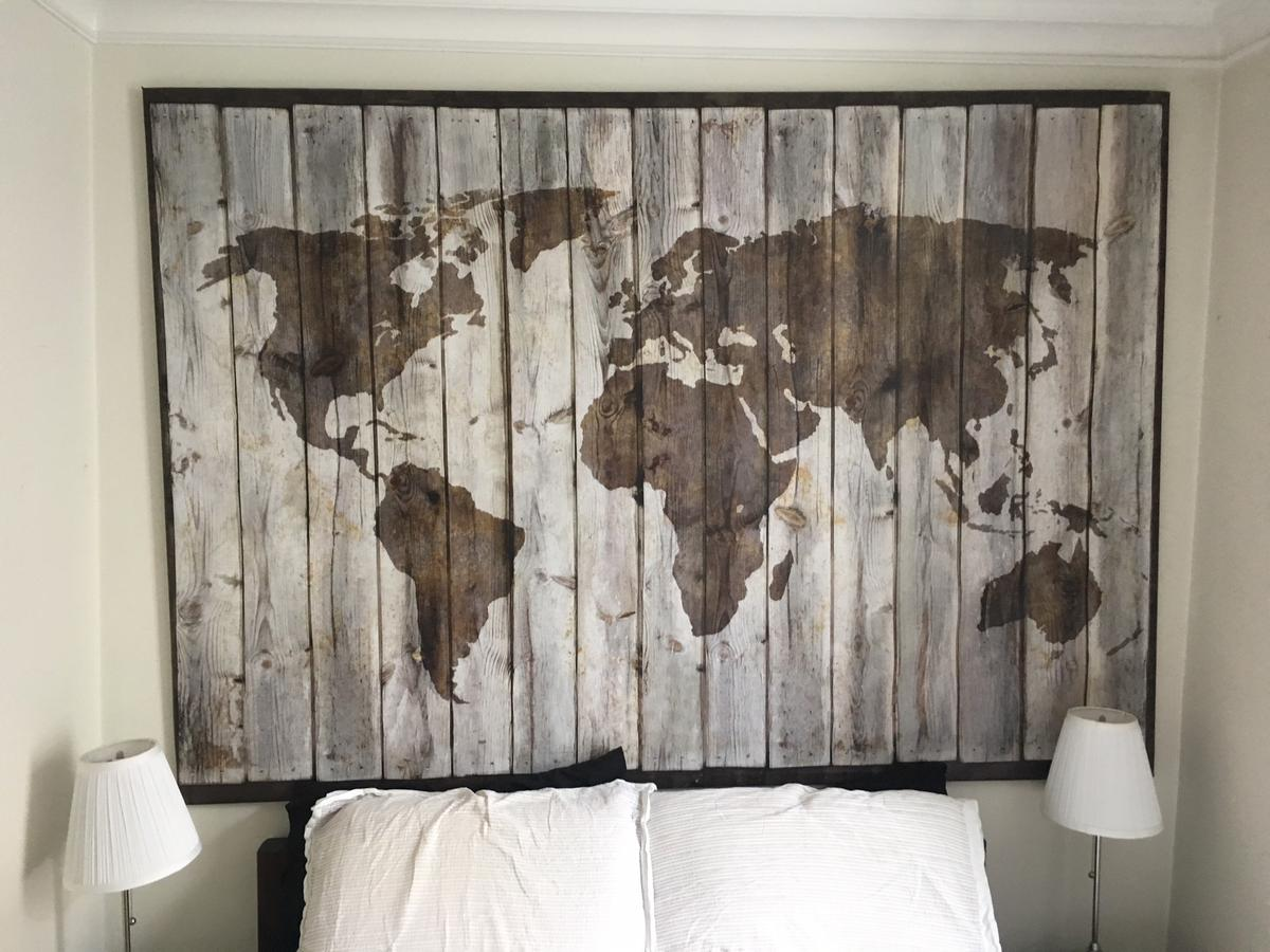 Ikea Bjorksta Driftwood World Map Canvas in SW6 Fulham for ... on bank of america world map, barnes & noble world map, craigslist world map, grandin road world map, anthropologie world map, carrefour world map, philips world map, sotheby's world map, the church of lds missions world map, crate and barrel world map, pizza hut world map, johnson world map, public-domain vintage world map, kohl's world map, modge podge world map, earth tone world map, hp world map, ireland location in world map, dunkin donuts world map, pepsi world map,
