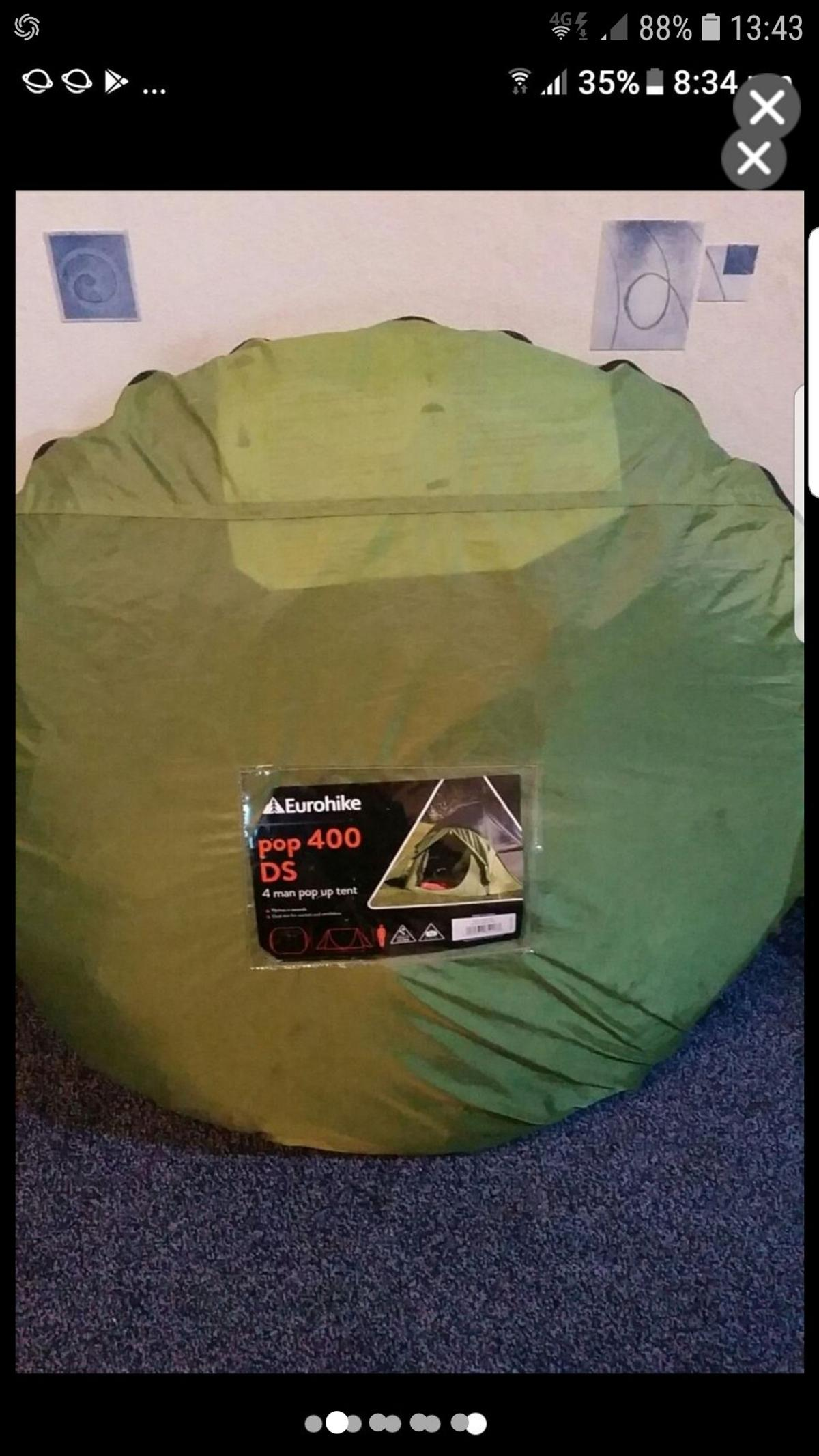 sports shoes 8f062 61194 Pop up 400 ds tent NEW in B34 Solihull for £50.00 for sale ...