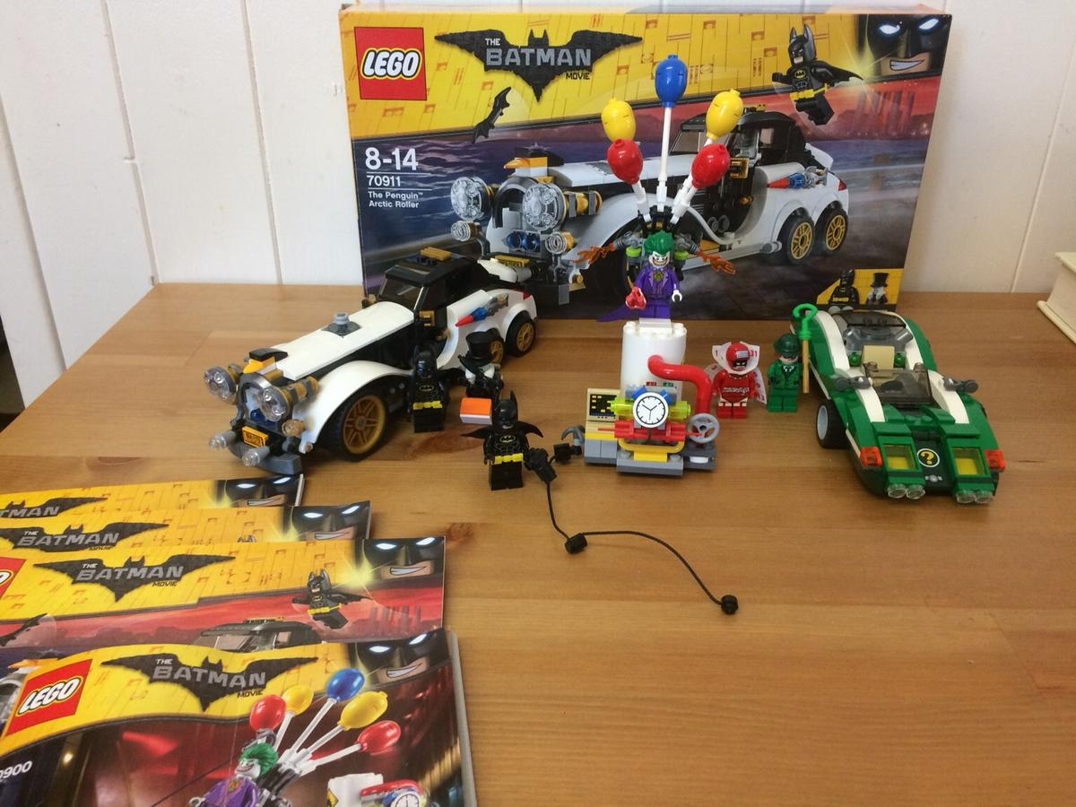 Lego Batman Movie Sets Like New In Rh11 Crawley Fur 30 00 Zum Verkauf Shpock De