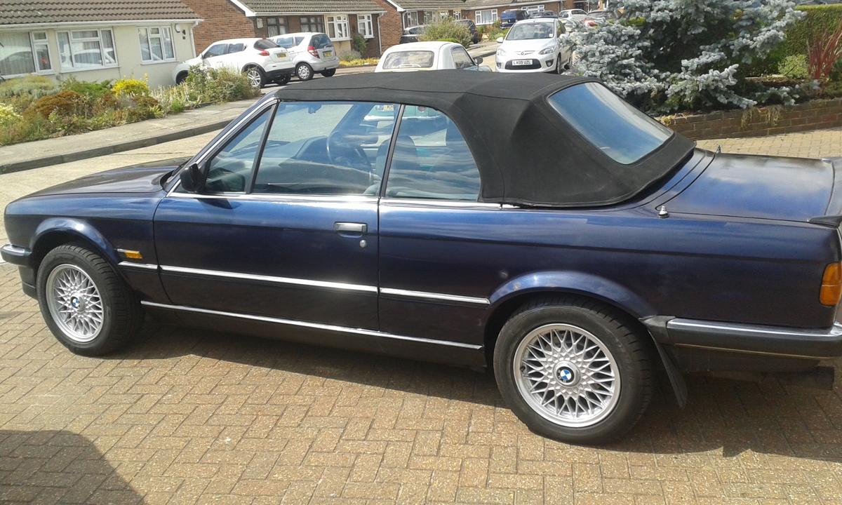 Bmw E30 325i Convertible In Da15 Bexley For 2 850 00 For Sale Shpock