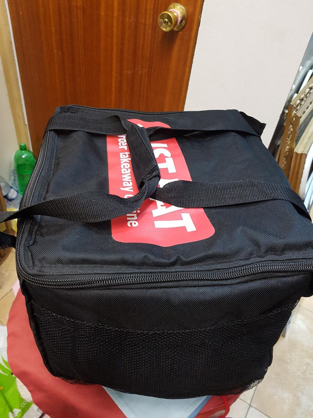 Just Eat Large Thermal Insulated Delivery Bag In Bb1