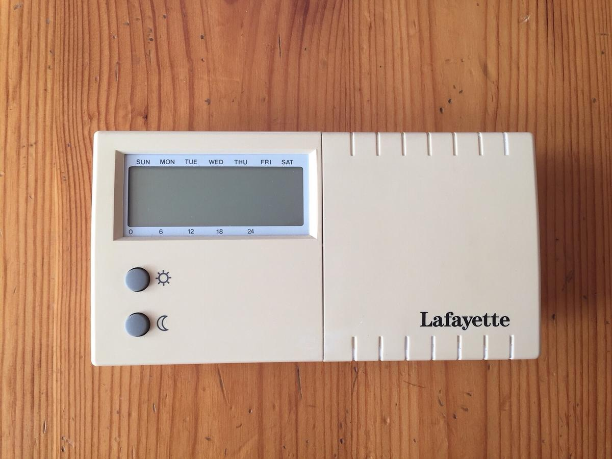 Cronotermostato Digitale Lafayette In 38062 Arco For 50 00 For Sale Shpock