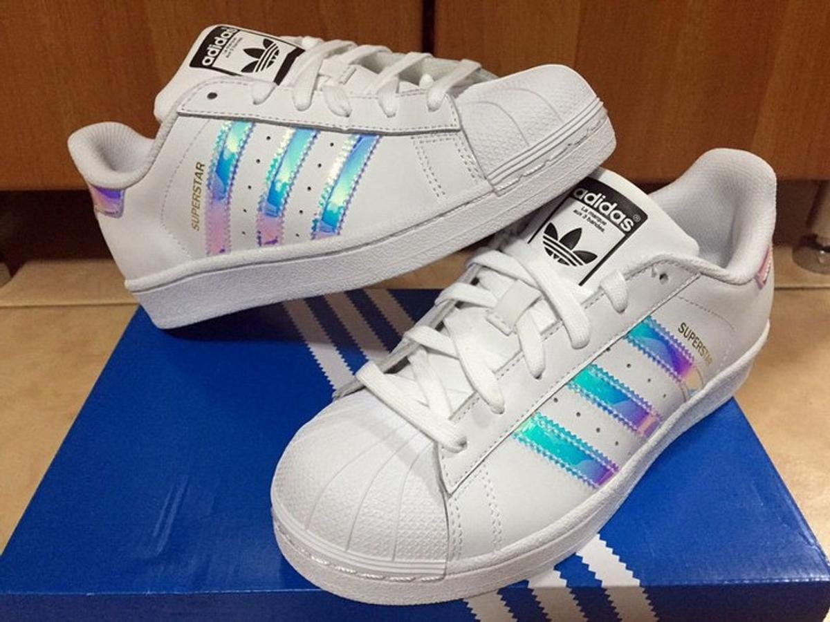 adidas superstar iridescent 40