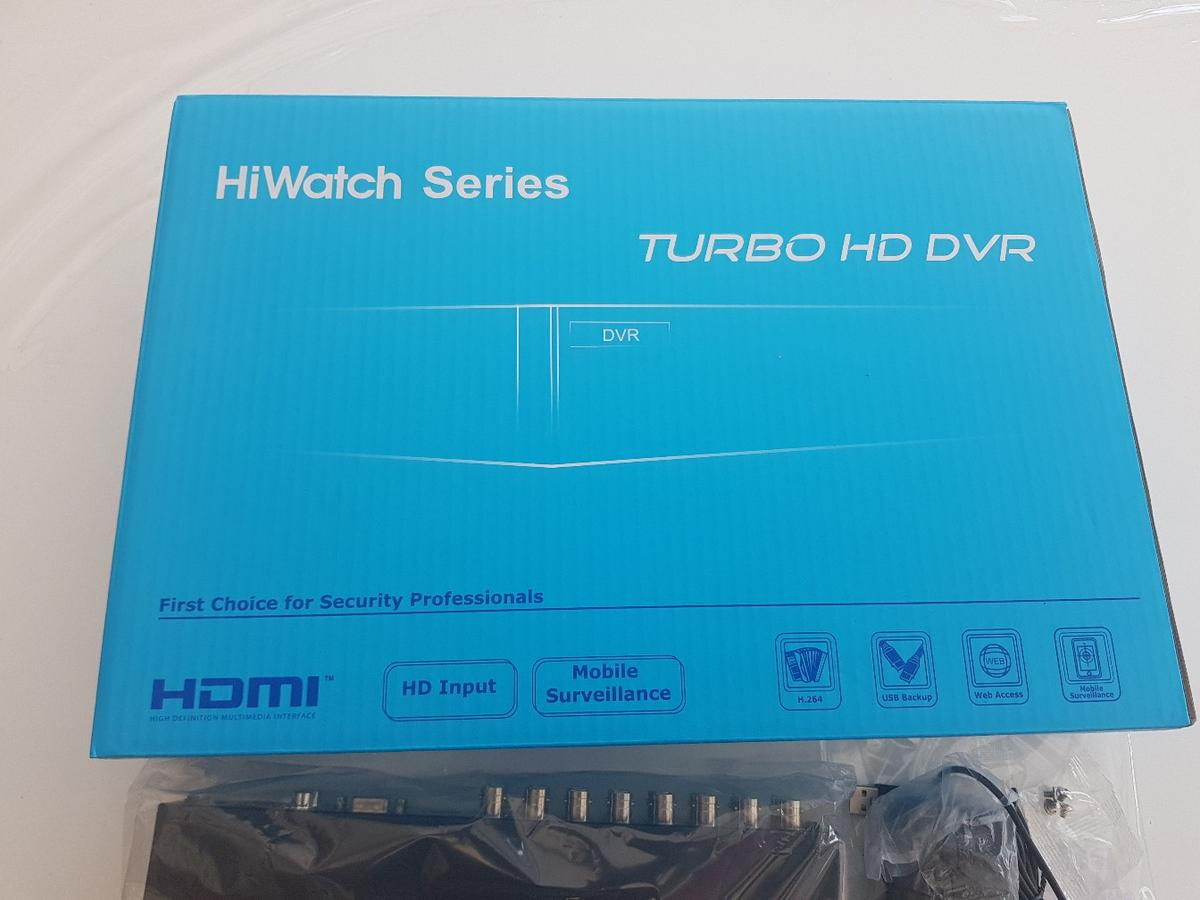 HIKVISION DVR 216QF1 16CHANNEL 3mp BRAND NEW