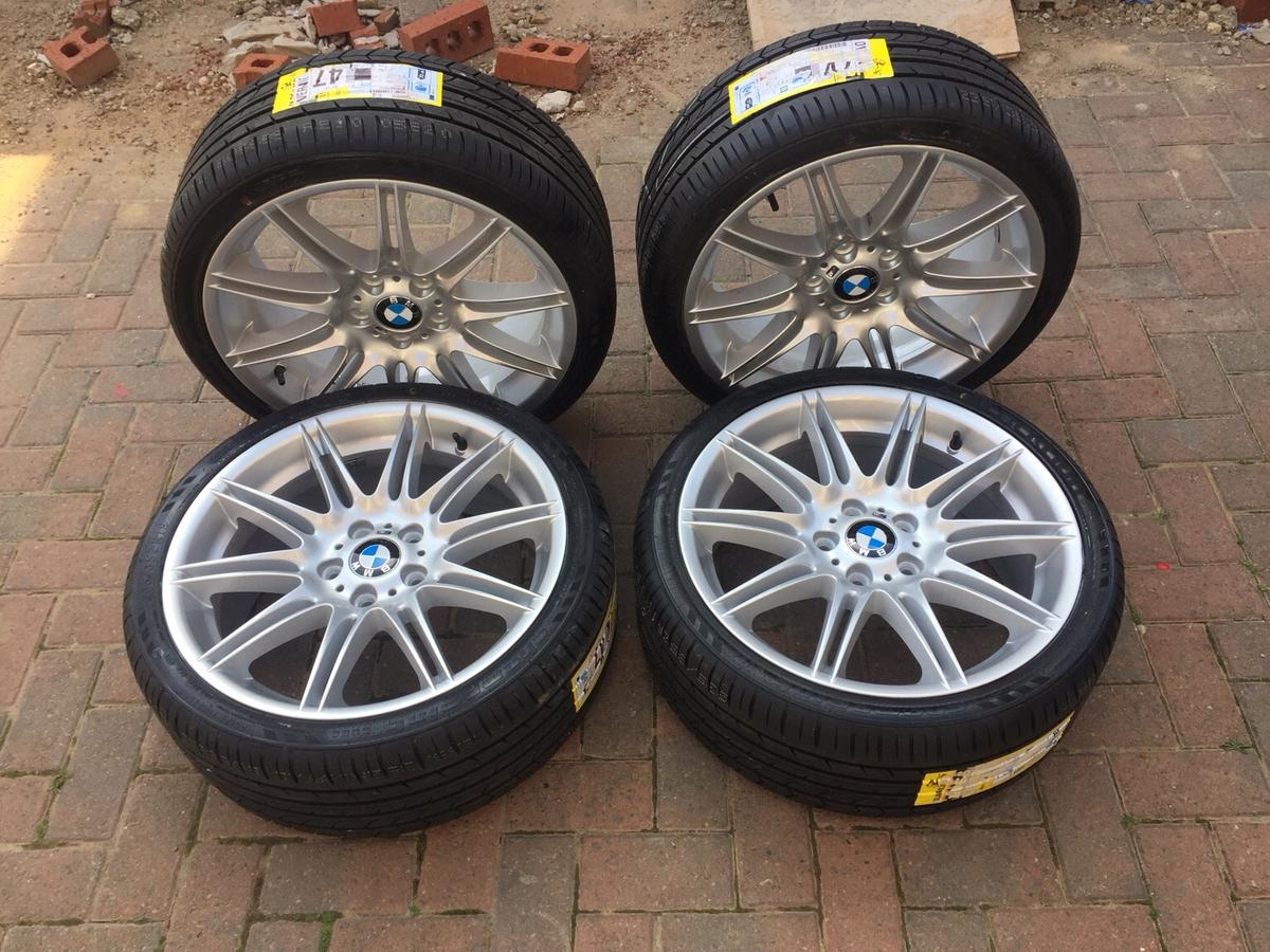 Genuine Bmw Mv4 19 M Sport Wheels New Tyres In S65 Rotherham For 695 00 For Sale Shpock