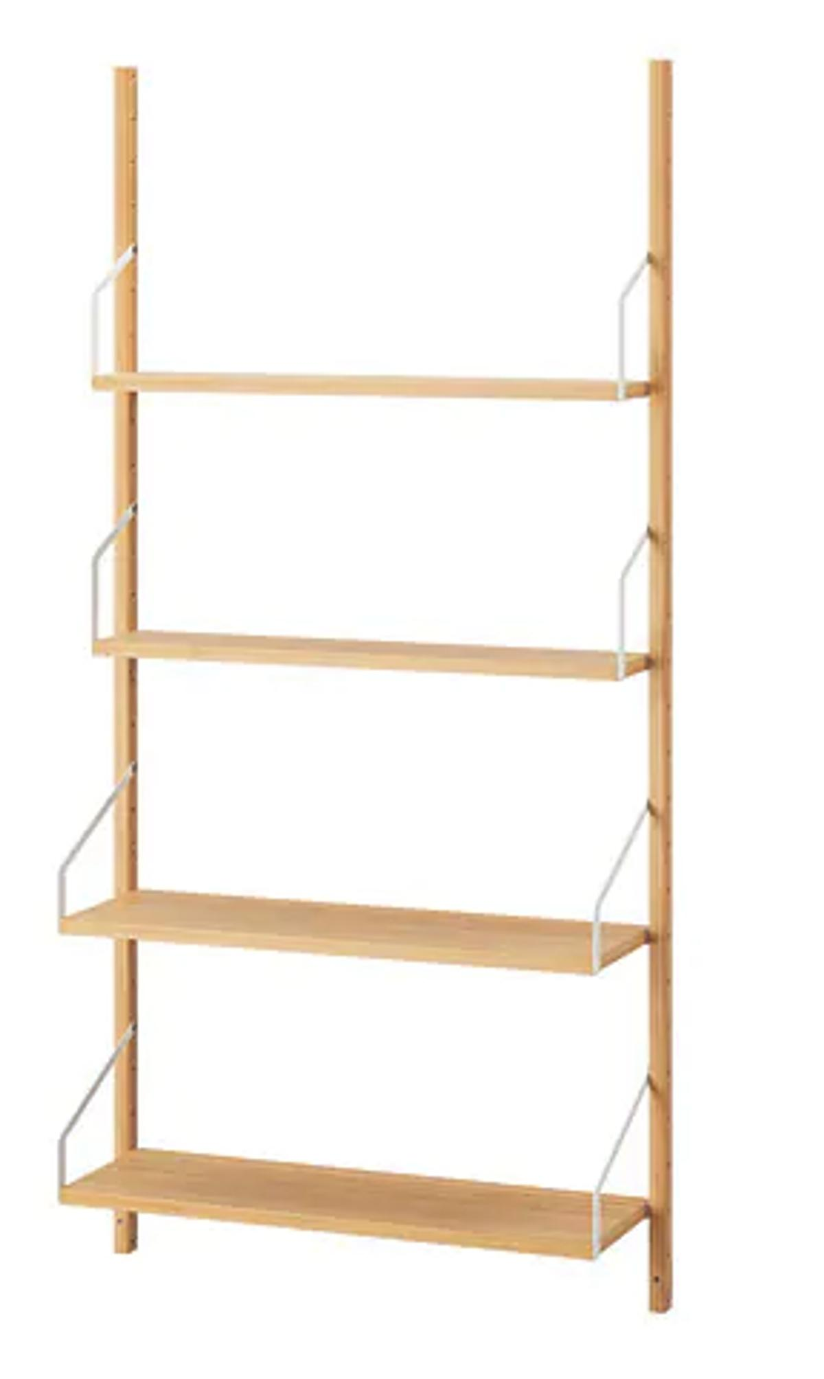 Ikea SVALNÄS Wall Mounted Bookcase/Shelving in E5 London for £140 00