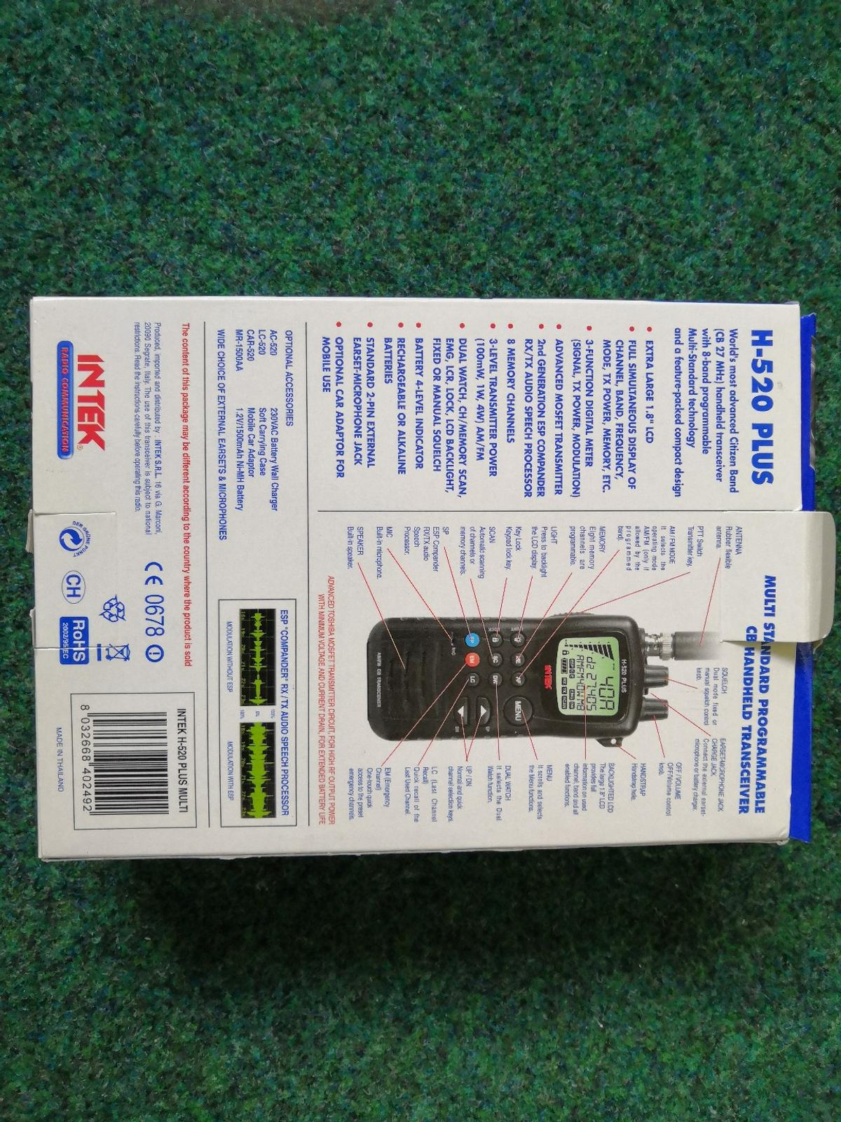 Intel h520 plus cb radio in CF35 Pencoed for £80 00 for sale - Shpock