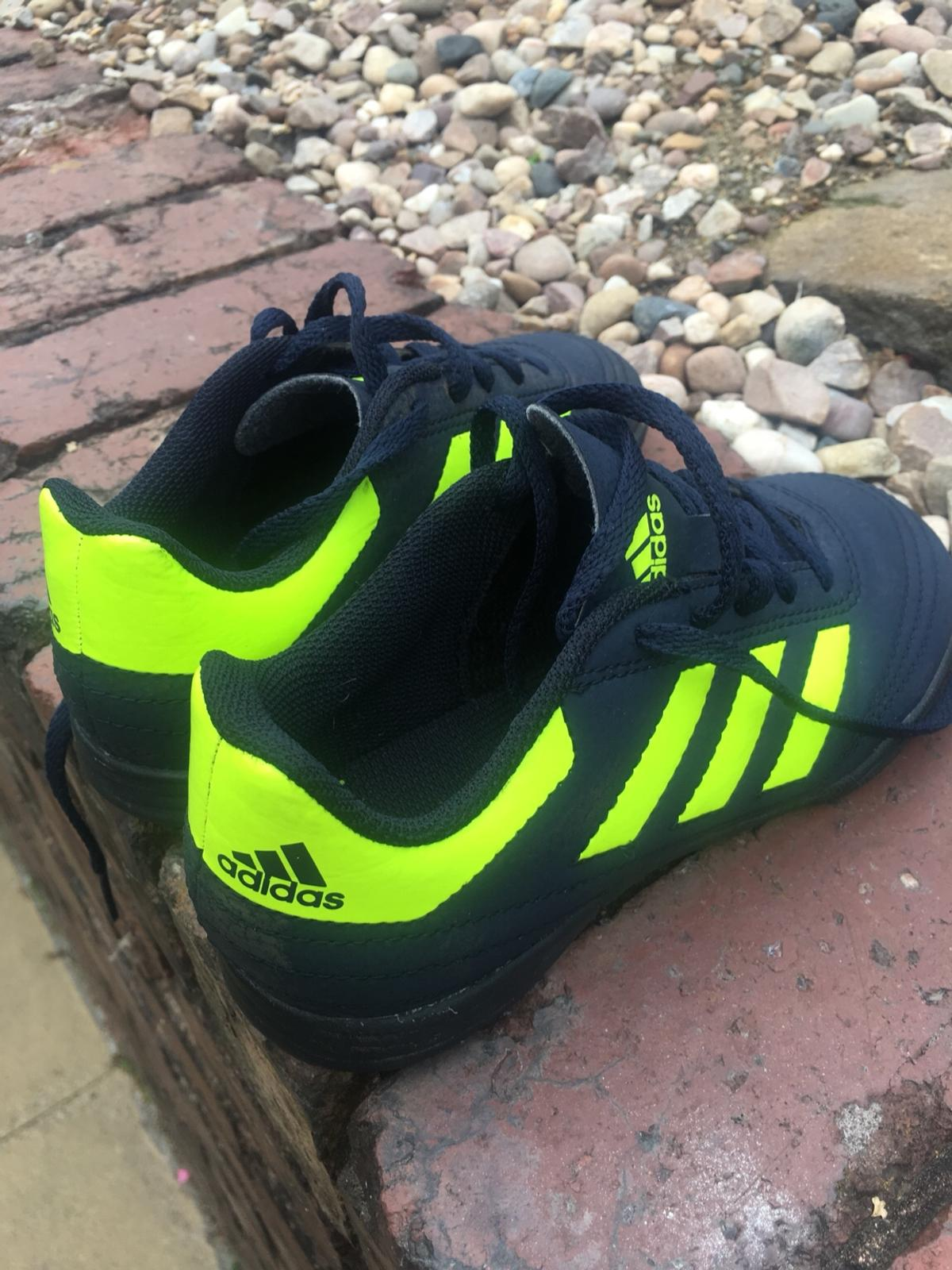 the best attitude sneakers another chance Adidas kids Astro turf trainers