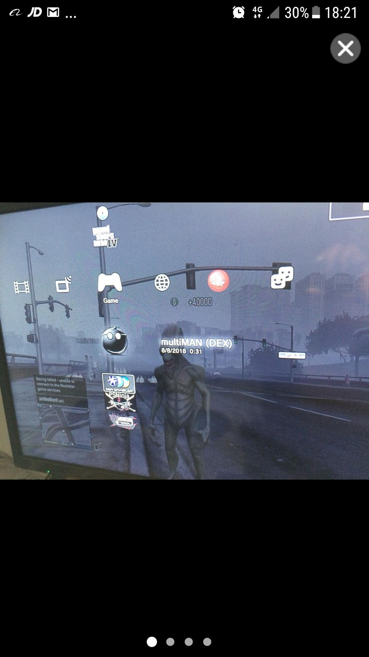 Jailbroken PS3 4 81 with Mod Menu